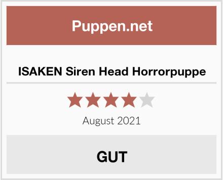 ISAKEN Siren Head Horrorpuppe Test
