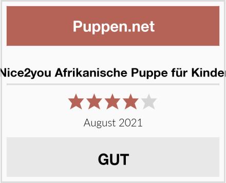 Nice2you Afrikanische Puppe für Kinder Test