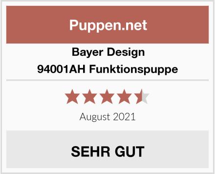 Bayer Design 94001AH Funktionspuppe Test