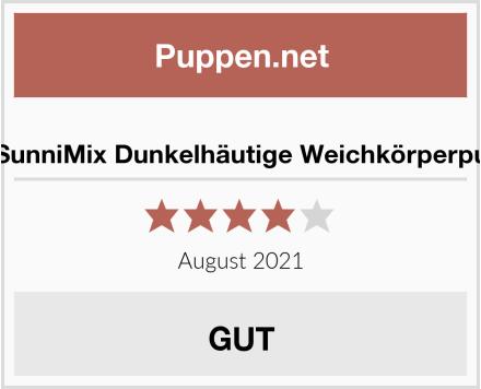 SM SunniMix Dunkelhäutige Weichkörperpuppe Test