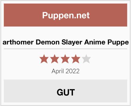 arthomer Demon Slayer Anime Puppe Test