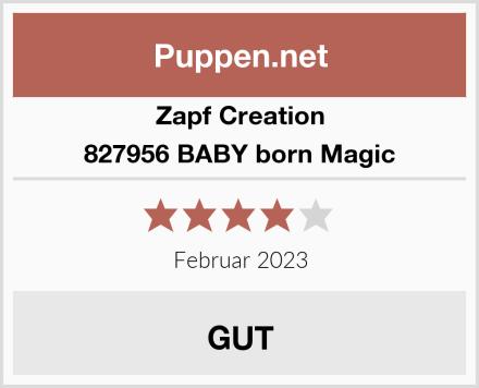 Zapf Creation 827956 BABY born Magic Test