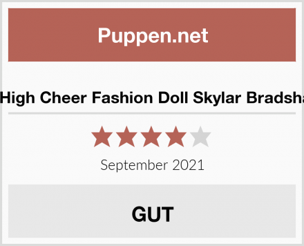 Rainbow High Cheer Fashion Doll Skylar Bradshaw Puppe Test