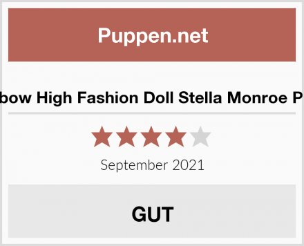 Rainbow High Fashion Doll Stella Monroe Puppe Test