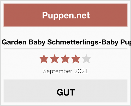 My Garden Baby Schmetterlings-Baby Puppe Test