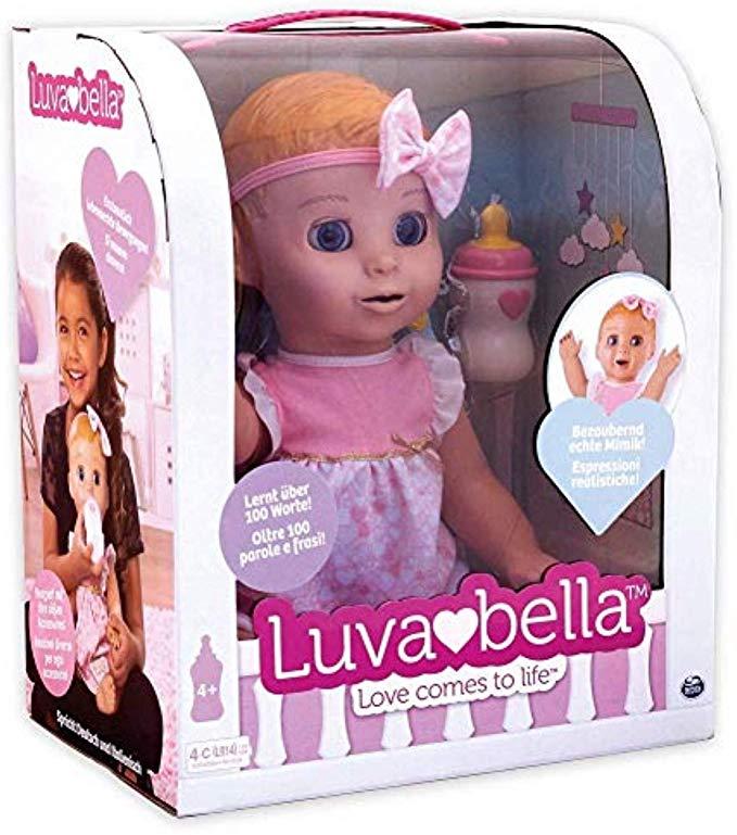 Luvabella 6039298 - Interaktive Puppe mit Sprachfunktion