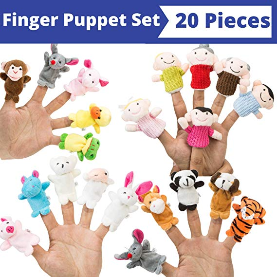 BETTERLINE Fingerpuppen-Satz