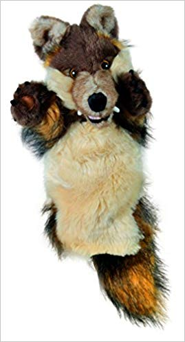 No Name Long-Sleeved Glove Puppets: Wolf
