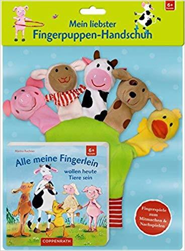 No Name Mein liebster Fingerpuppen-Handschuh - Alle meine Fingerlein