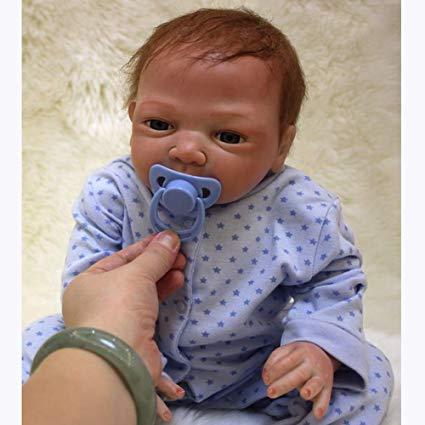 No Name Minsong Lebensecht Reborn Babypuppe