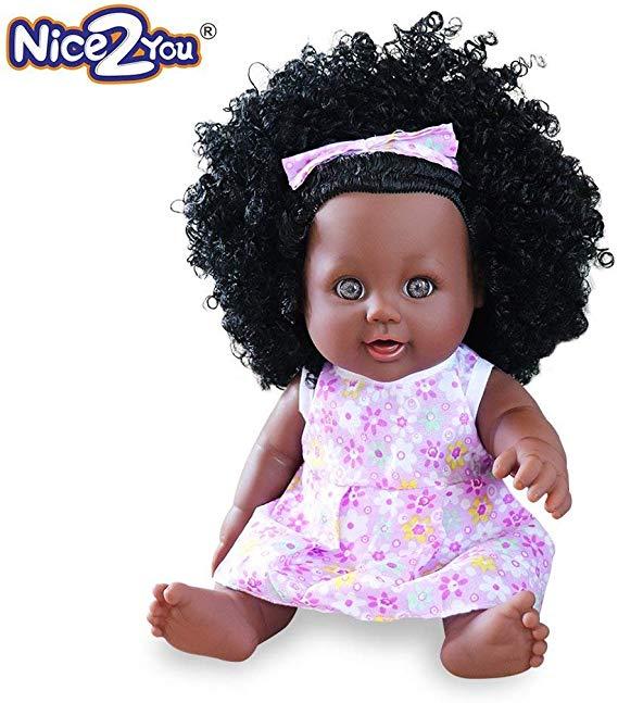 No Name Nice2you Schwarze Mädchen Puppe