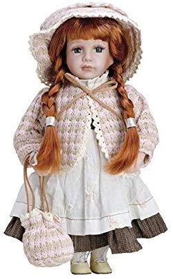 No Name Puppe aus Porzellan Elizabeth – BAM004