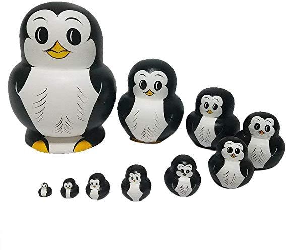 No Name RAILONCH Pinguin Matroschka