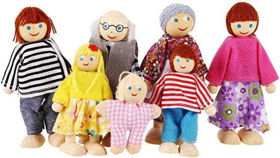 No Name Smibie Puppenfamilie