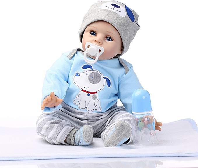 Ziyi Reborn Dolls Lifelike Babypuppe