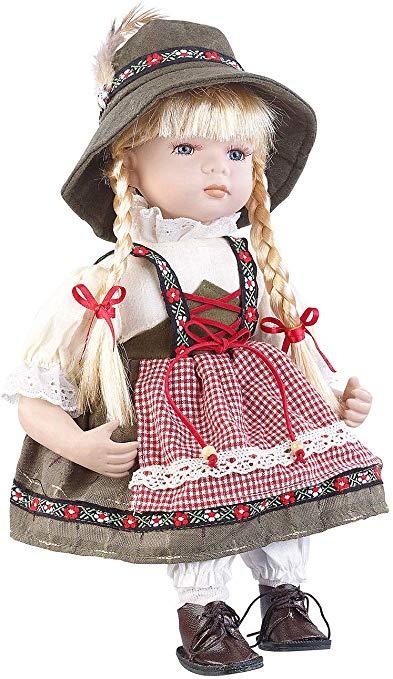 Pearl Deko-Puppe: Sammler-Porzellan-Puppe Anna