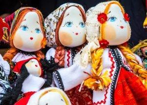 Die Geschichte von Puppen