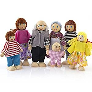 Puppenstuben-Puppen