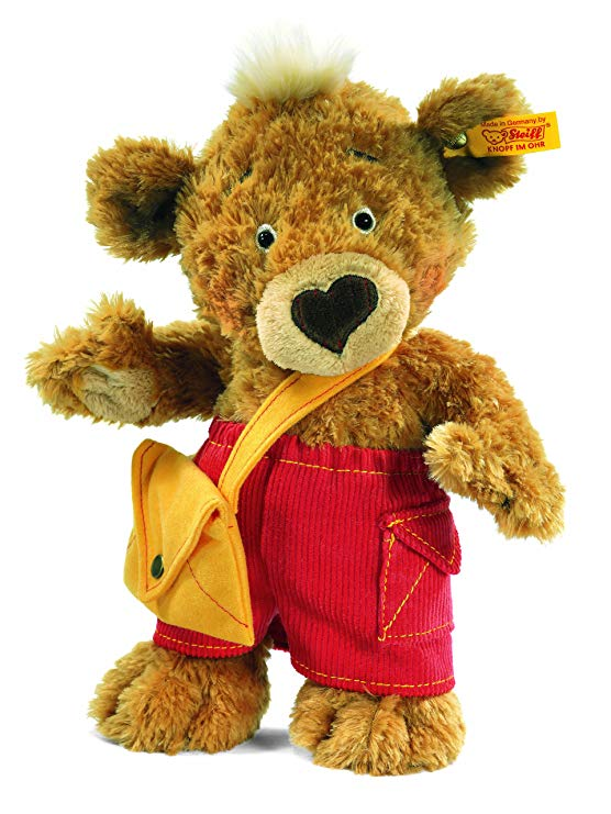 Steiff 014444 Teddyb. Knopf 25 Hellbraun Bär