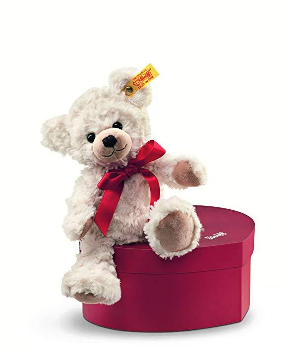 Steiff 109904 - Teddybär Sweetheart 22 cm in Herzbox