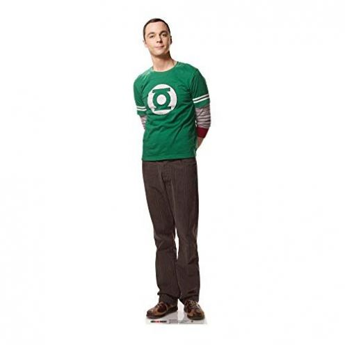 Star Cutouts Pappaufsteller Doctor Sheldon Cooper
