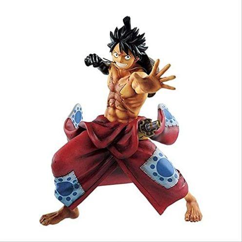 XzMoz Kimono Luffy Figur