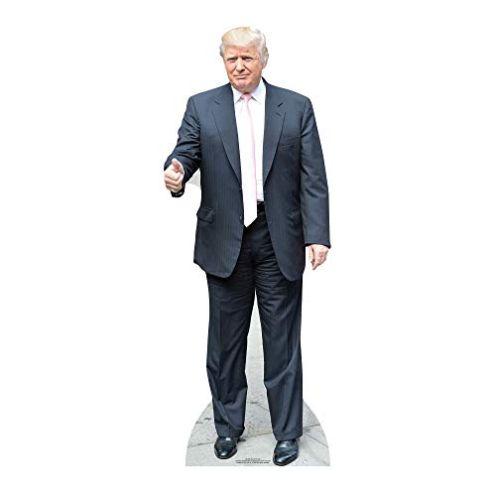 Star Cutouts Kartonschnitt von Donald Trump