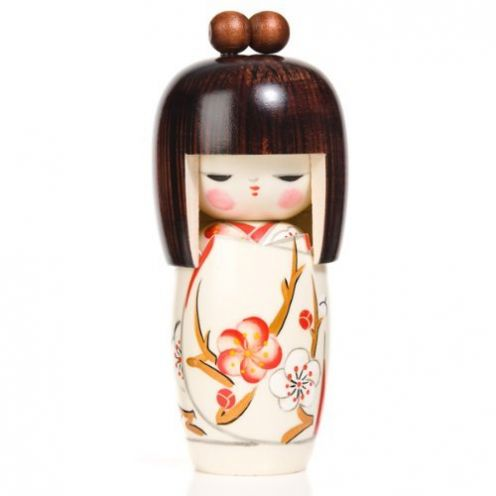 The Japanese Shop Frühlingstraum Puppe Kokeshi