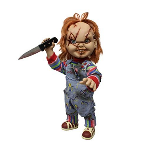 Close Up Child's Play Horror Puppe