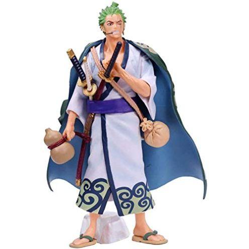Washuli Kimono Samurai Figur