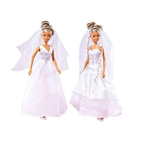 Simba 105733414 - Steffi Love Puppe im Hochzeitskleid