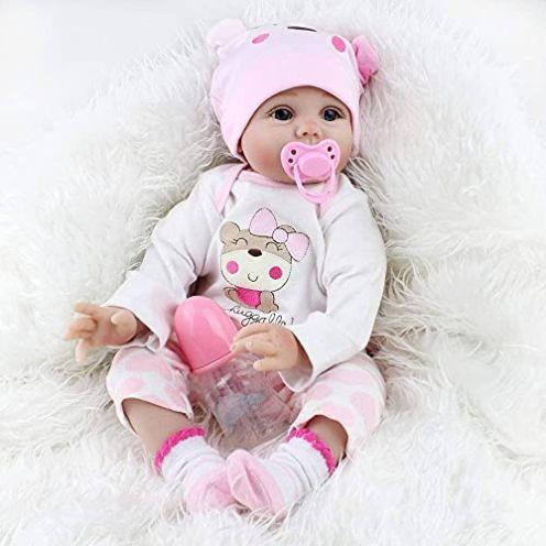 ZIYIUI Lebensecht Reborn Baby Doll