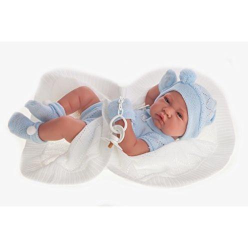 Antonio Juan Puppe neugeborenes Baby