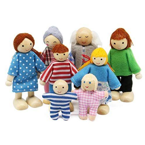 Wagoog Puppenfamilie im Set