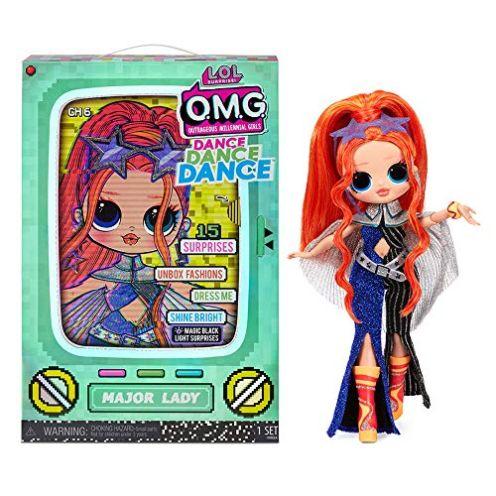 LOL Surprise OMG Dance Dance Dance Major Lady Fashion Puppe