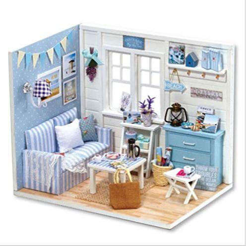 Hilitand Miniatur Puppenhaus