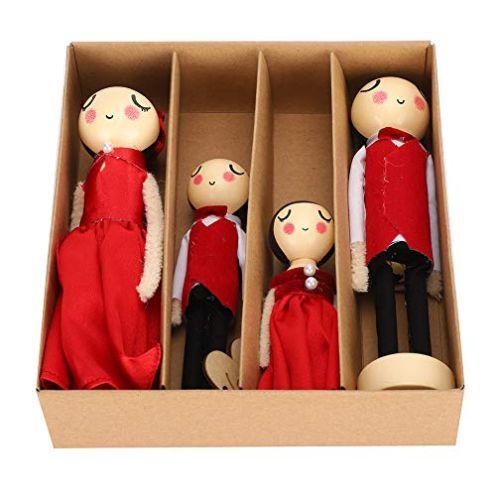 KUIDAMOS Chinesischen Mini-Puppen