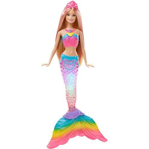 Barbie DHC40 - Dreamtopia Regenbogenlicht Meerjungfrau Puppe