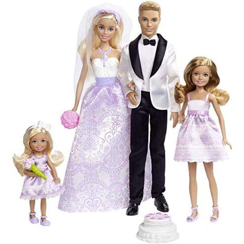 Barbie DJR88 - Traumhochzeit Puppen Geschenkset