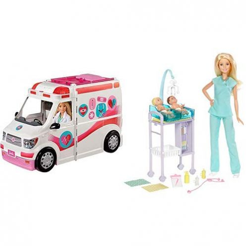 Barbie FRM19 - 2-in-1 Krankenwagen