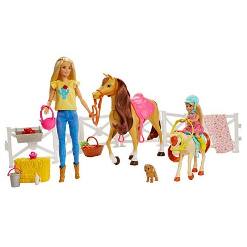 Barbie FXH15 - Reitspaß Spielset mit Barbie (blond)