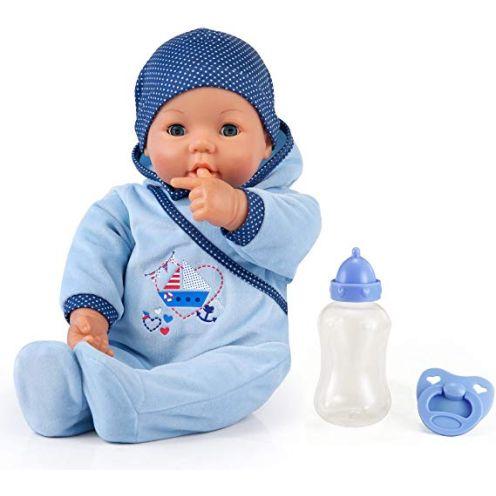Bayer Design 9468300-Funktionspuppe Hello Baby Boy