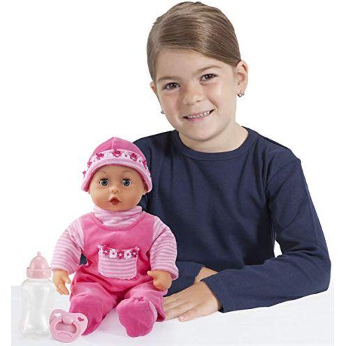 Bayer Design Babypuppe First Words mit Schlafaugen