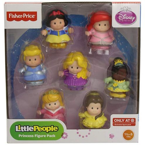 Fisher Price Little People Disney Princess 7 Figure Pack