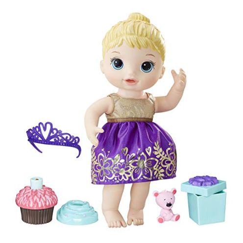 Hasbro Baby Alive E0596ES1 Geburtstagsspaß-Baby
