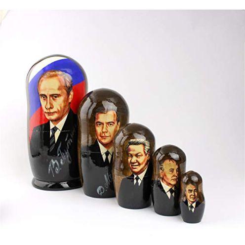 Heka Naturals Matryoshka Putin Russische UDSSR Präsidenten