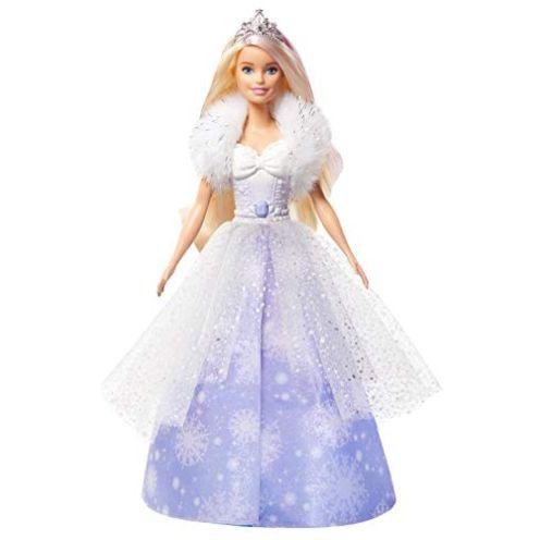 Mattel Barbie GKH26 - Dreamtopia Schneezauber Prinzessin Puppe