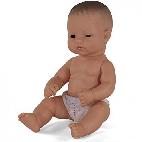 Miniland 31035 - Baby asiatischer Junge