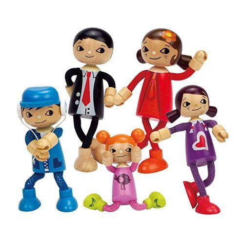 Hape - Puppenfamilie Komplett-Set