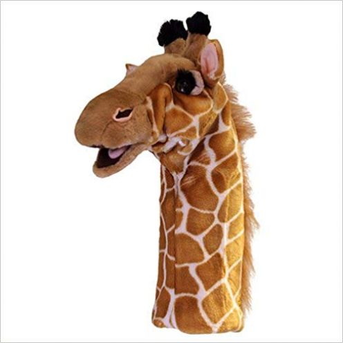 Long-Sleeved Glove Puppets: Giraffe